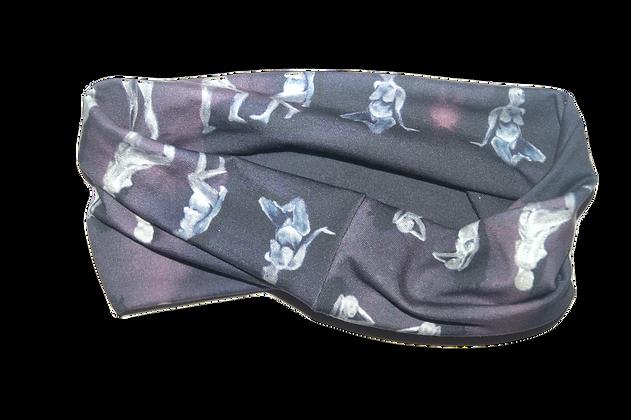 Purple Aura Head Wrap