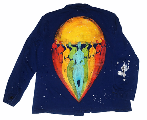 Artist Painted Smock (Love Spectrum)