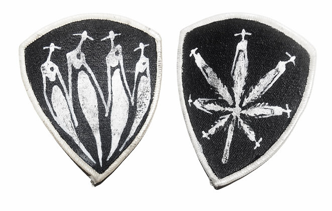 Painted Patches Pair - The Cool x Pot People