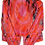 Thumbnail: S - Rocky Pink Acrylic Painted Vegan Jacket