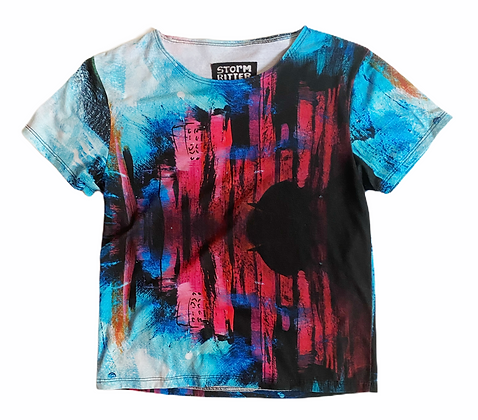 XS - NYC Moon T-Shirt