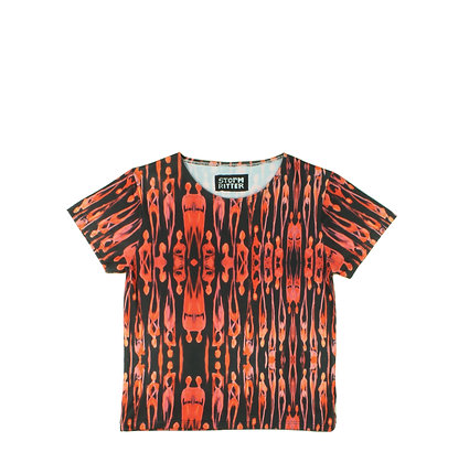 XS, XL - Psychedelic Flame T-Shirt