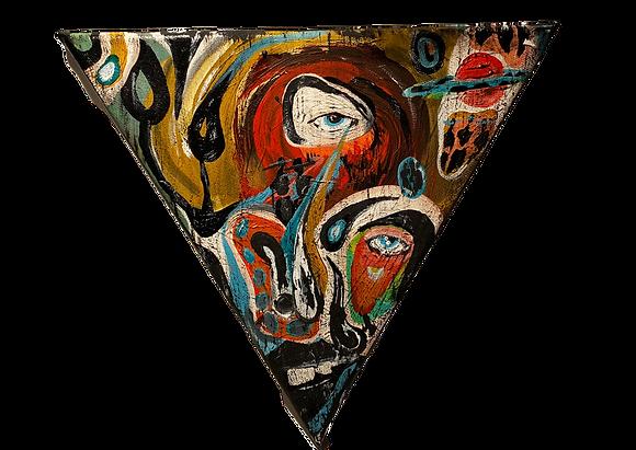 """""""Planchette"""" Triangle Canvas"""