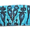 Thumbnail: S/M - Electric Blue Cool People Tube/Bandeau