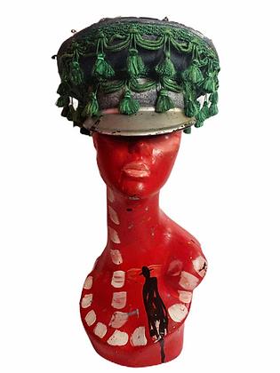 Tassel & Patched Punk'd Military Cap