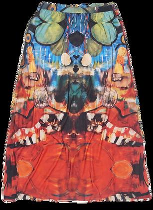 M - Surrealist Garden Skirt