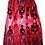 Thumbnail: The Cool People Hot Pink Midi Skirt