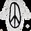 Thumbnail: Peace Splatter Paint Penguin Jacket