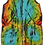 Thumbnail: Technicolor Synchronicity Painted Vintage Dress