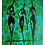 "Thumbnail: ""Cool Toned Peril"" Canvas (12X16)"
