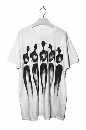 L - The Cool People Crisp White Classic T-Shirt