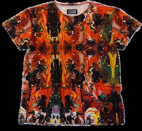 XL - Surrealist Swirl T-Shirt