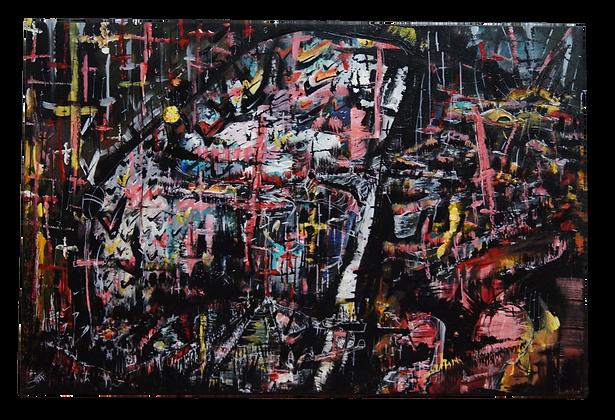 """""""Enter & Exit"""" Canvas (20 x 30)"""
