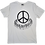 Thumbnail: The Cool People (Peace House) Painted Cotton T-Shirt