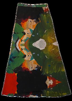 XS - Monk High Waisted Skirt