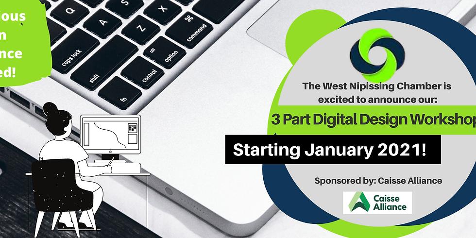3-Part Digital Design Workshop