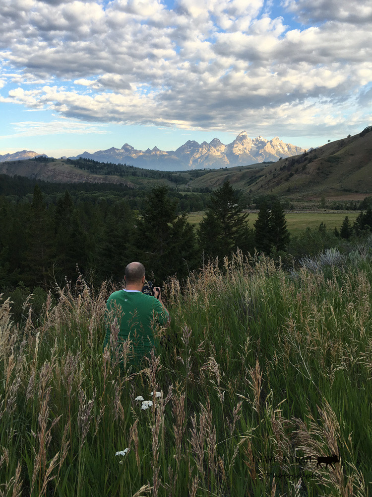 Mike at the Gros Ventre, Grand Teton National Park, WY