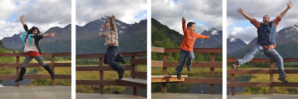 Larsen Family - Eagle River Nature Center, AK