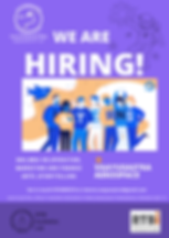 Purple Office Illustration Recruitment B