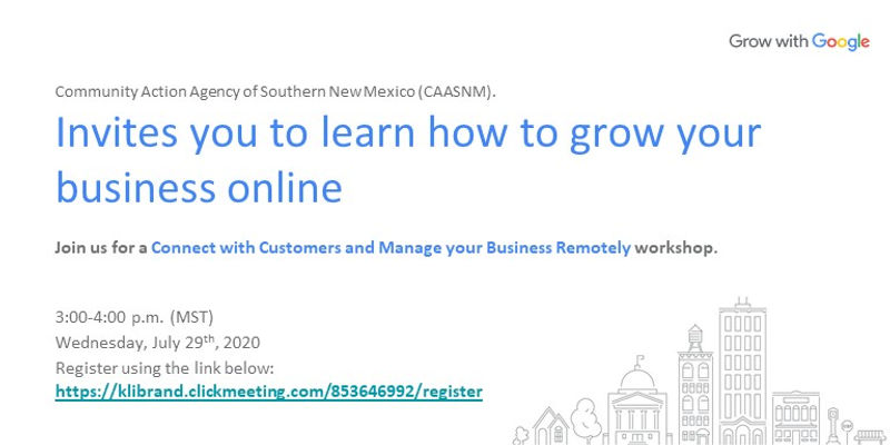 (Small Business) Virtual Workshop Custom
