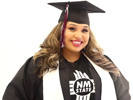 Graduate Spotlight: Diamond Medina, New Mexico State University - January 29, 2021