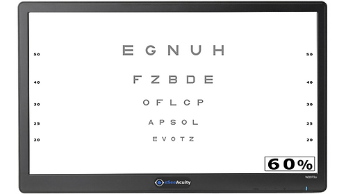 All-in-one eSee Digital Acuity Chart - Premium