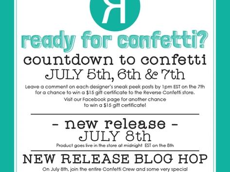 Countdown to Confetti. Day 3