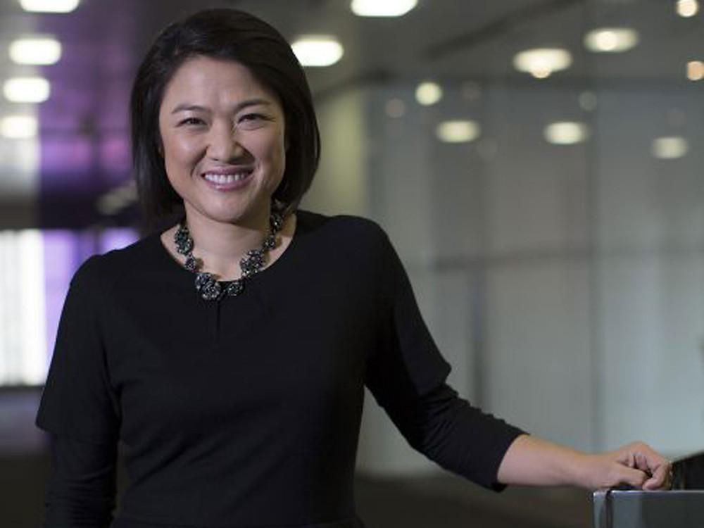 """Forbes dergisi tarafından hazırlanan dünyanın """"kendi servetini yapmış"""" ilk 10 kadını listesine giren Zhang Xin, gayrimenkul firması SOHO'nun CEO'su."""