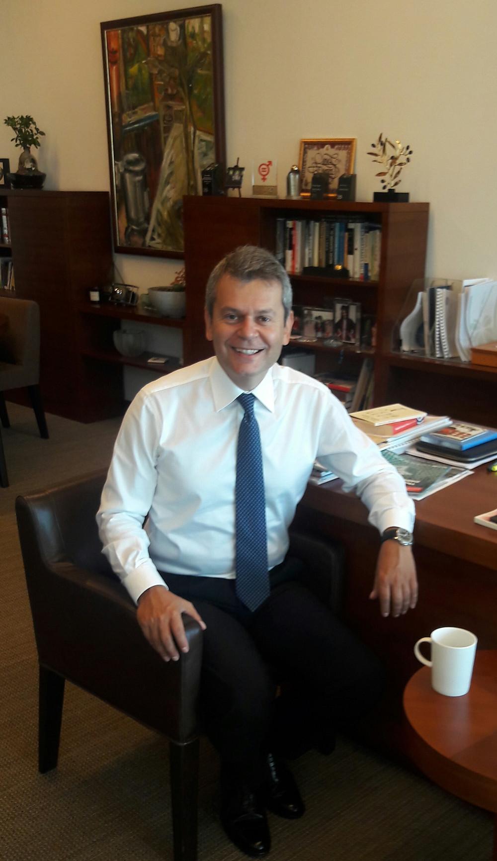 Garanti Bankası Genel Müdür Yardımcısı Cemal Onaran