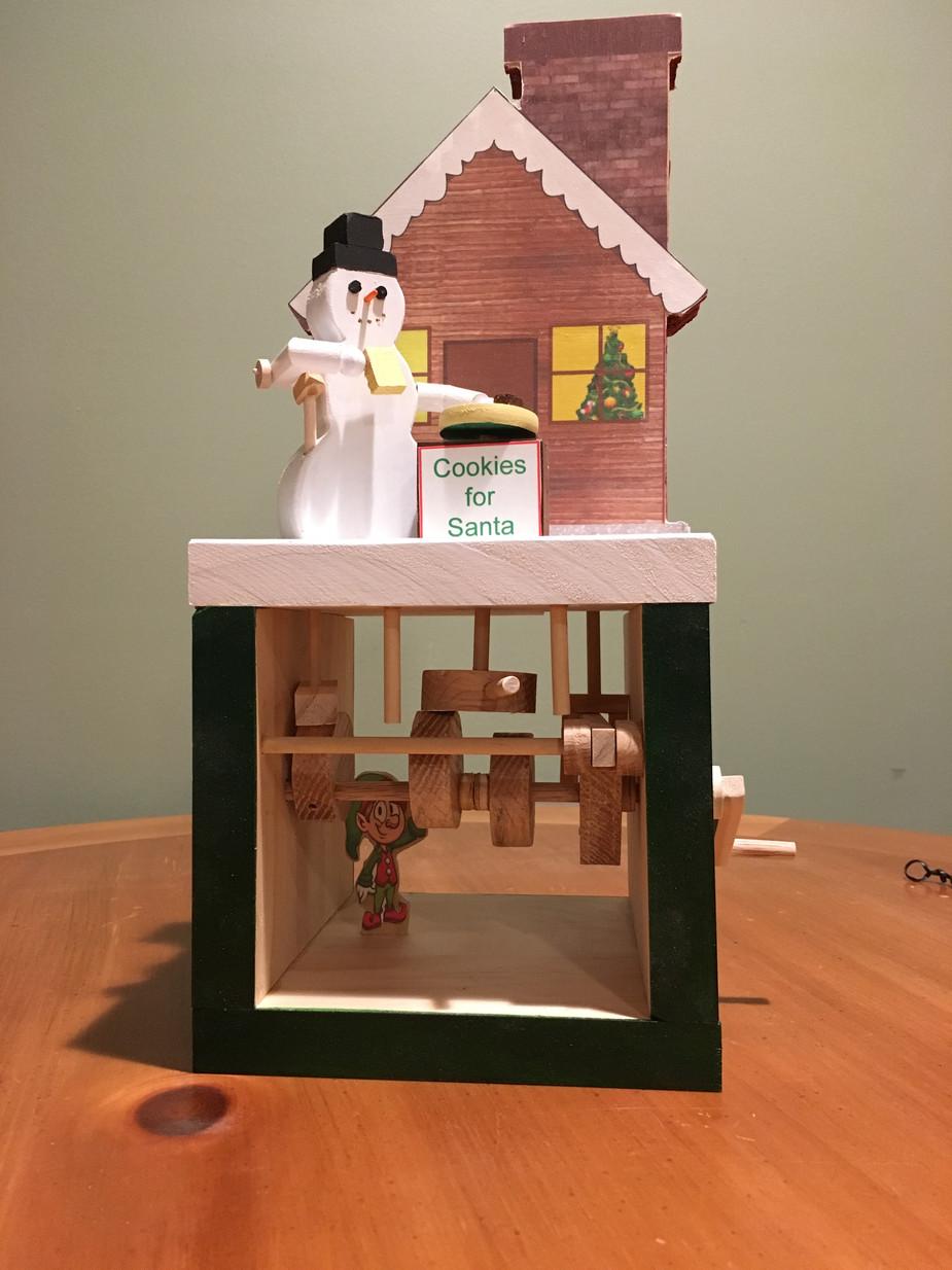 Automata - Cookies for Santa