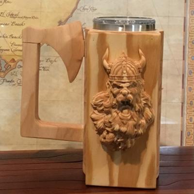 CNC - Screaming Viking Mug
