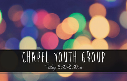 Youth Group!