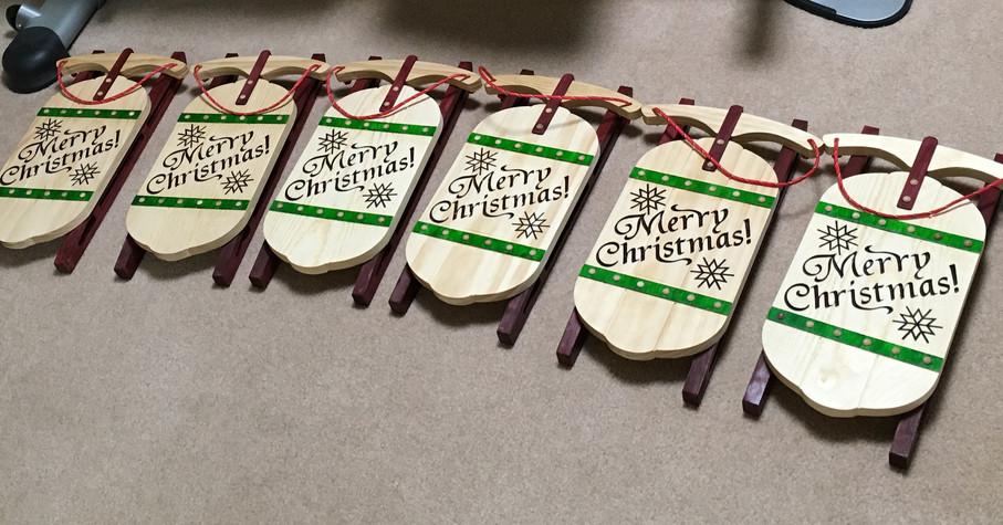 Merry Christmas Sleds
