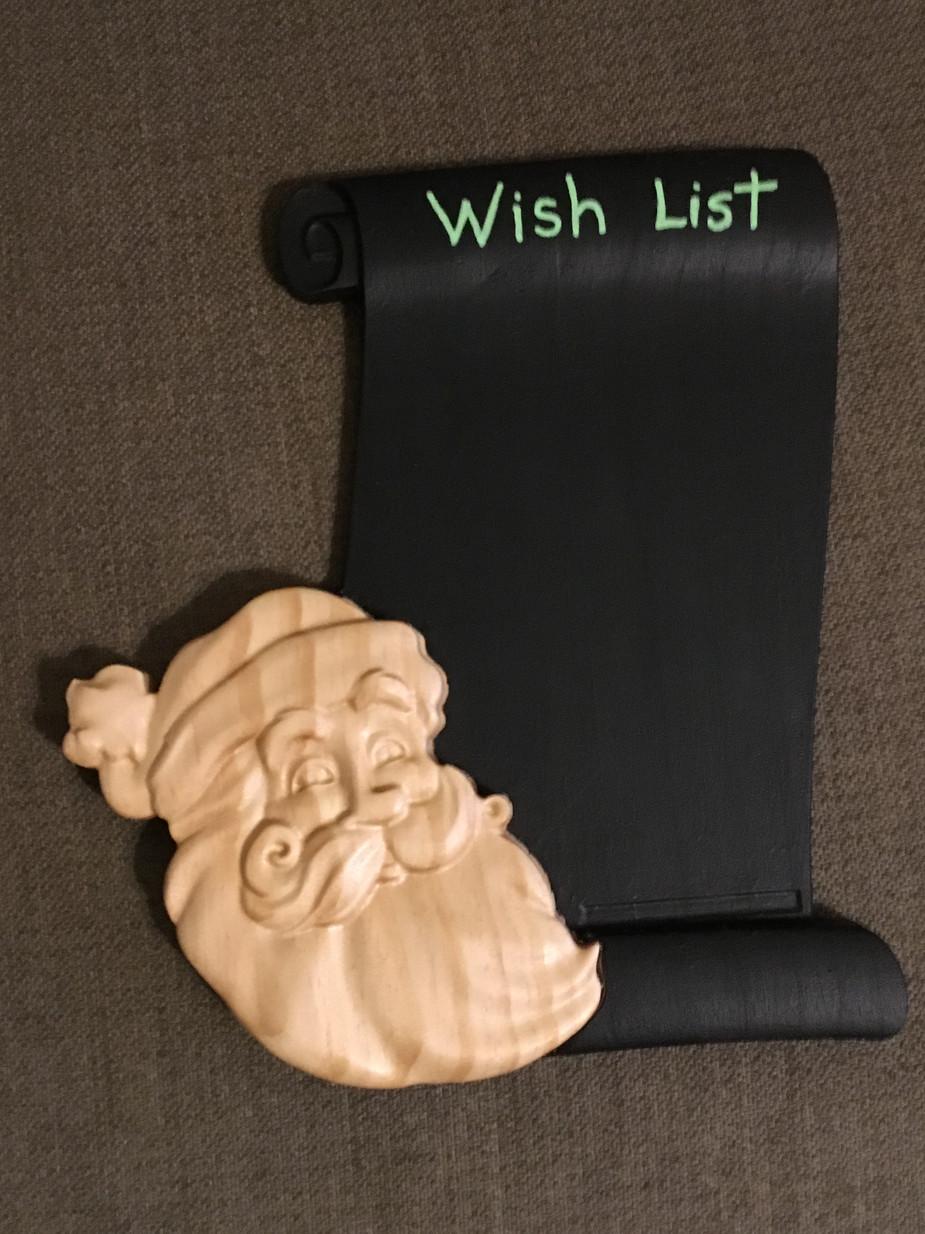 CNC - Santa Wish List