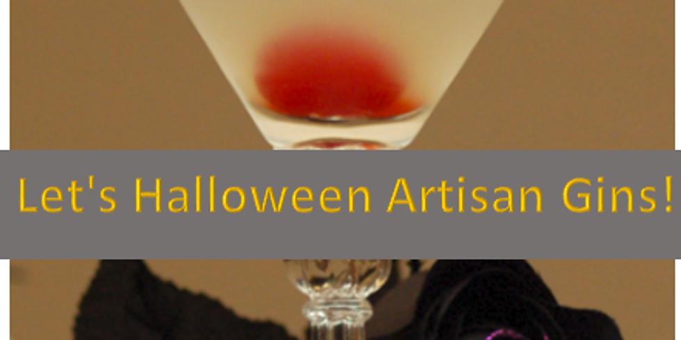 Let's Halloween Artisan Gins!