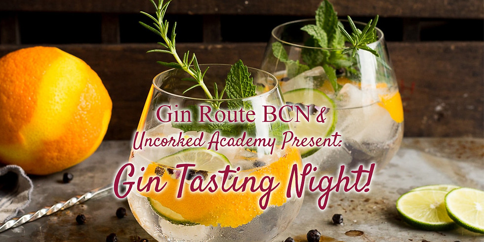 A Gin Workshop with Uncorked Academy