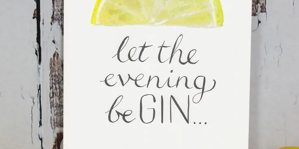 Seasons Change while the Love for Gin continues...