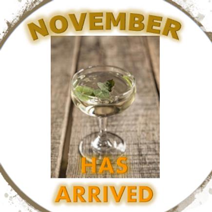 November has Arrived!