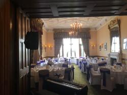Reception, Matfen Hall October 2017