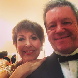 """with Anita harris as part of the"""" Rat pack is back"""" show"""