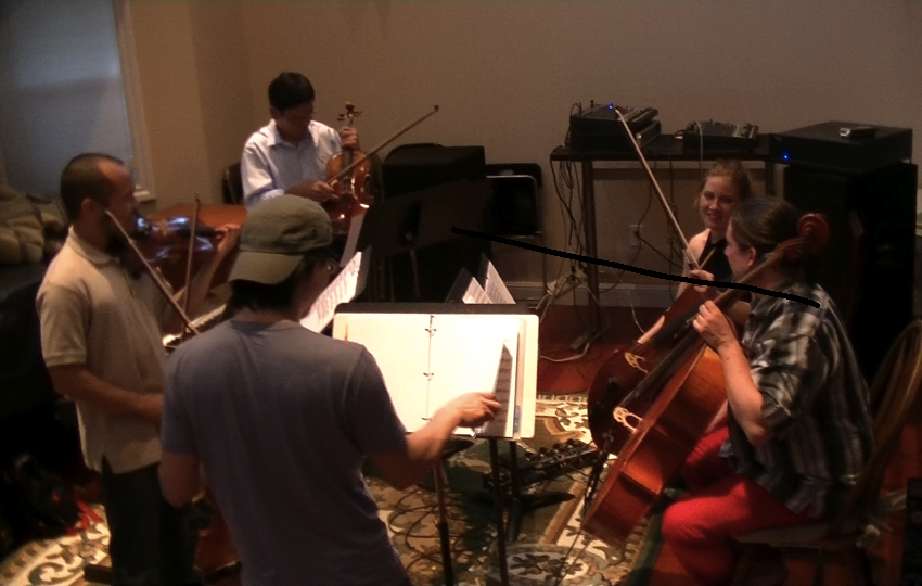First ARCO-PDX rehearsal, June 2014