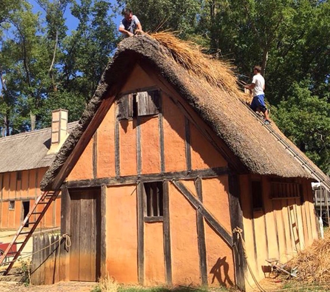 Thatch Roof Restoration for Historic