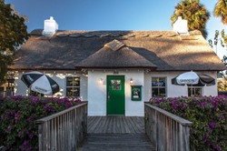 Irish Pub Thatch Roof