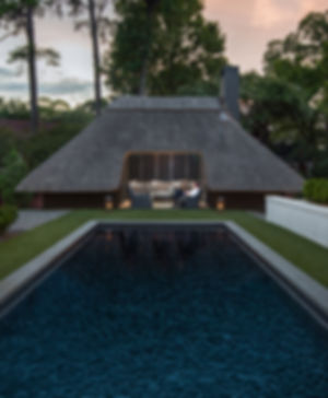 Thatched Poolhouse Grey Gables McGhee & Co Roofthatchers