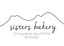 sisters bakery logo with address and #2.