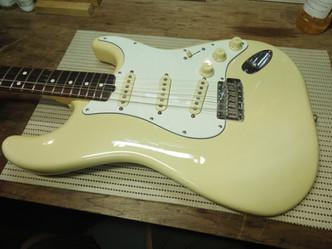 ピックアップ交換 Fender ST ×  Bare Knuckle