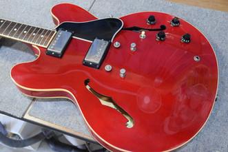 ネック折れ修正 Gibson LP SP ES-335