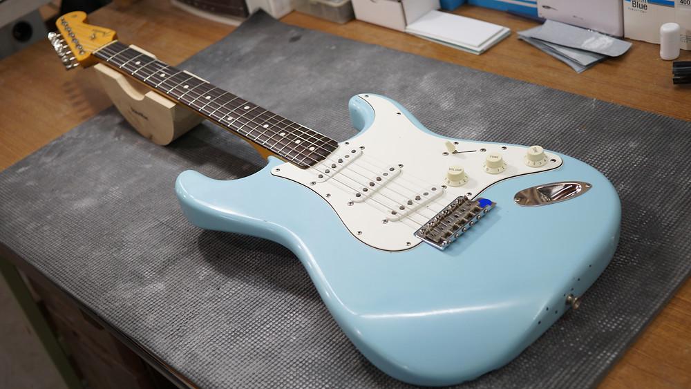 Fender ST Sonic Blue