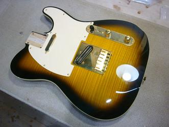 Fender Japan Exclusive Ritchie Kotzen Telecaster  リフィニッシュ