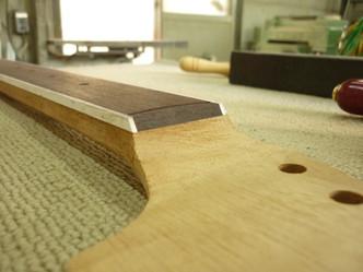 オリジナル製作3 ネック木工完了